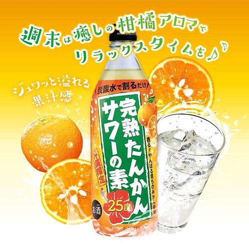久米仙酒造㈱ 完熟たんかんサワーの素 24度 500ml