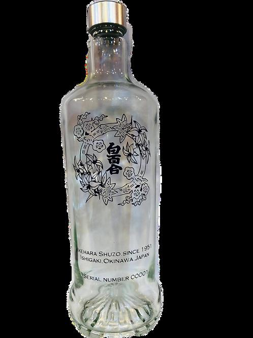 新商品 ㈱池原酒造 Shirayuri inui 特殊ボトル版 44度 720ml