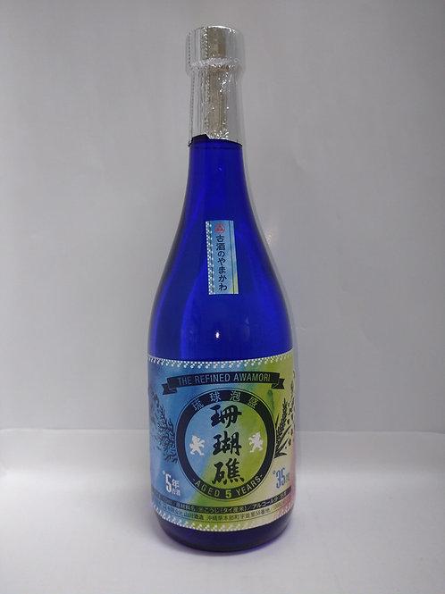 (有)山川酒造 珊瑚礁5年35度720ml