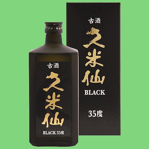久米仙酒造㈱ 久米仙 ブラック 古酒 35度 720ml