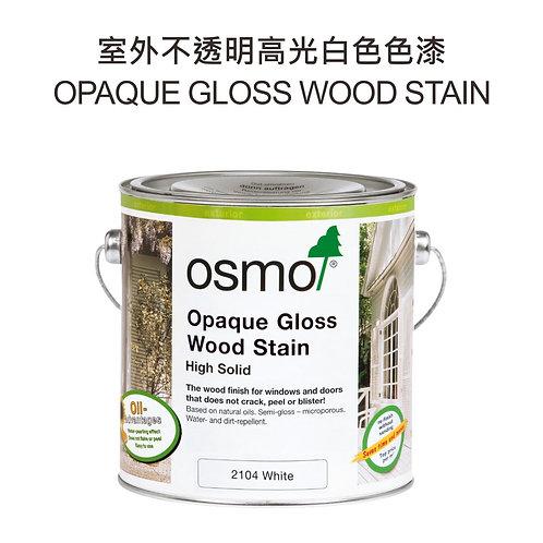 測試 歐斯蒙不透明高光白色色漆