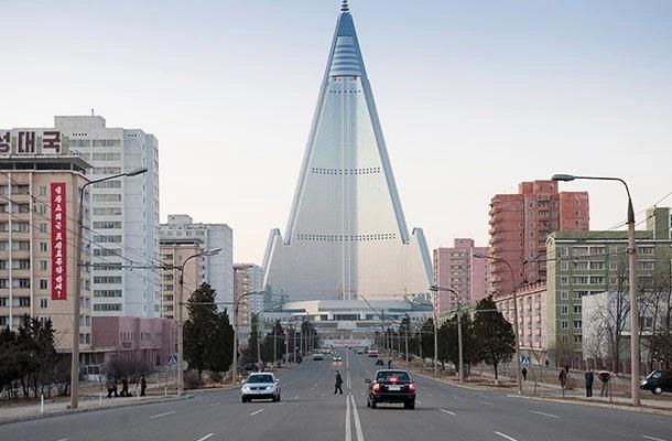 Pyongyang, capital of North Korea.