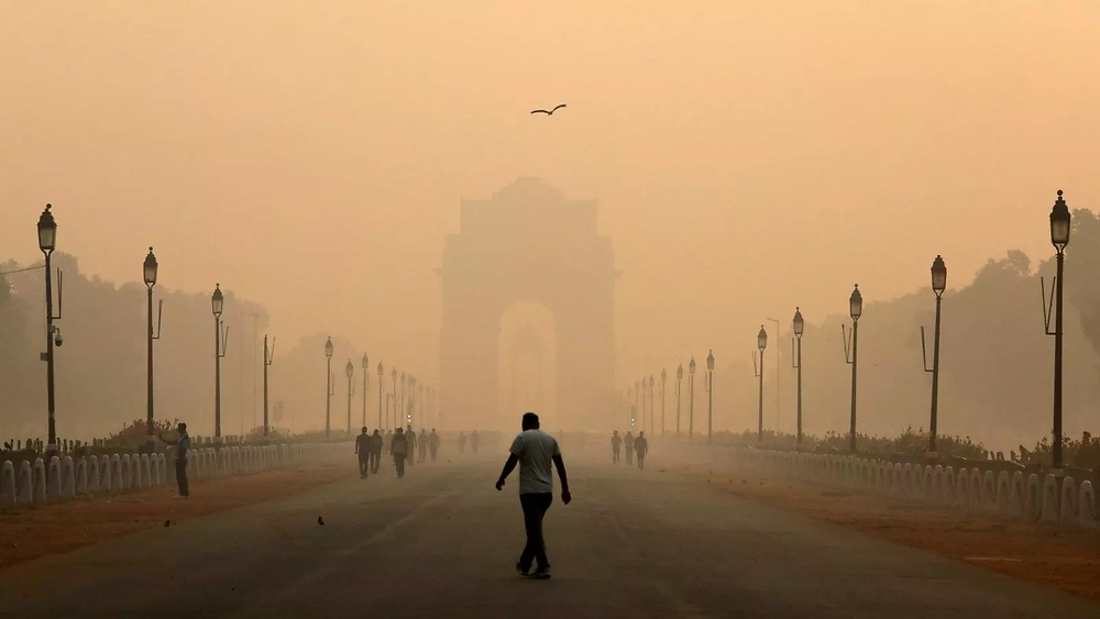 Air Pollution in New Delhi, the capital of India, is one of the worst in the world.