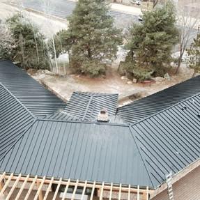 Standing seam metal roofing Star, Idaho