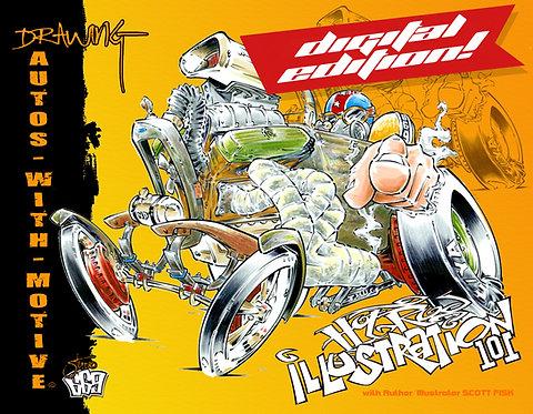 Hot Rod Illustration #101 DIGITAL