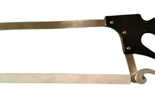 """(1418002) 19"""" STAINLESS STEEL HAND MEAT CUTTER"""