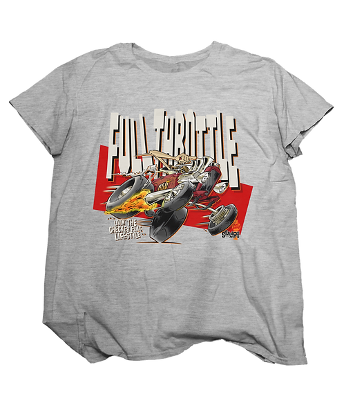 FULL THROTTLE Adult gray