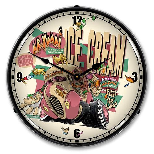 Mr. Yummi Clock