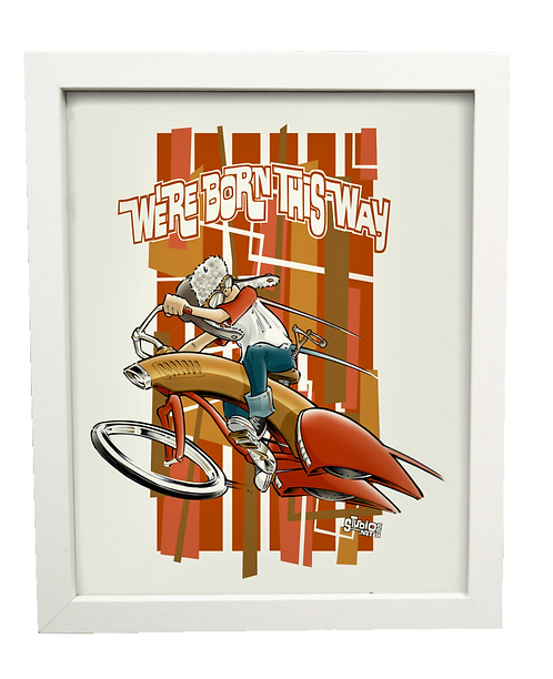 Born this WAY (boy) limited edition print