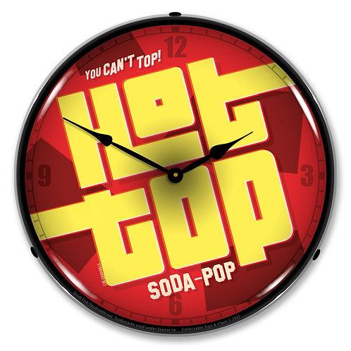 Hot Top Soda Clock