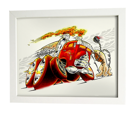 HEAVY~Foot limited edition print