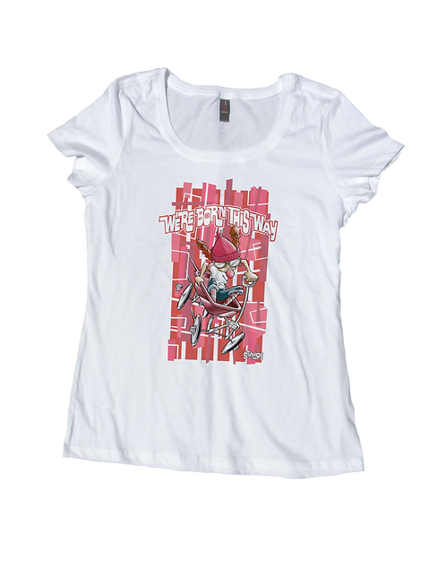 669 Born This Way Scoop white