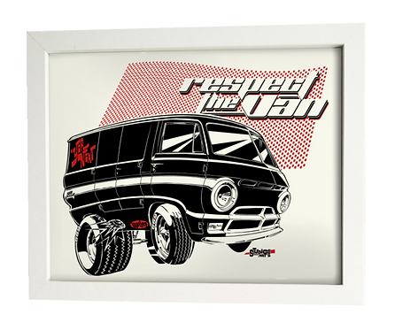 R.T.V. A-100 Dodge limited edition print