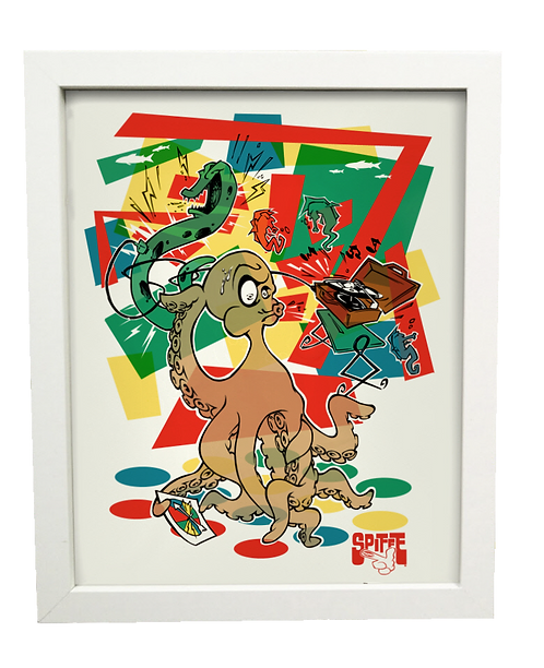 GAME NIGHT limited edition print