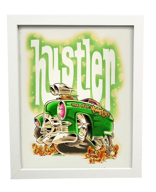 Hustler limited edition print