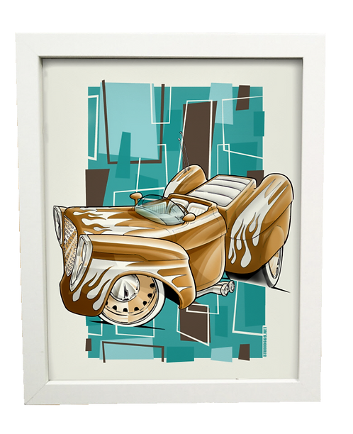 COCOA limited edition print
