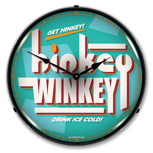 Hinkey Winkey Soda Clock