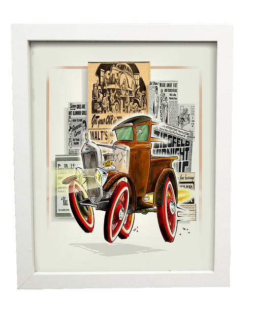 TINKER limited edition print