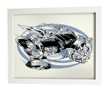 SLIDER limited edition print