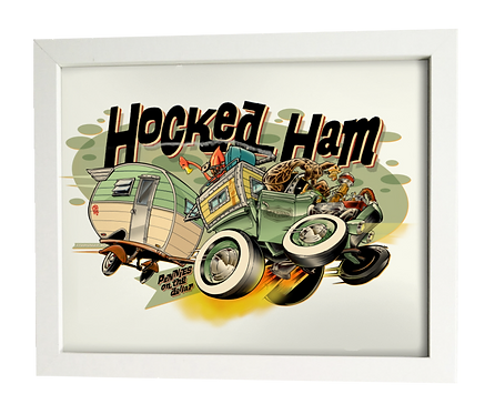 Hocked-Ham limited edition print