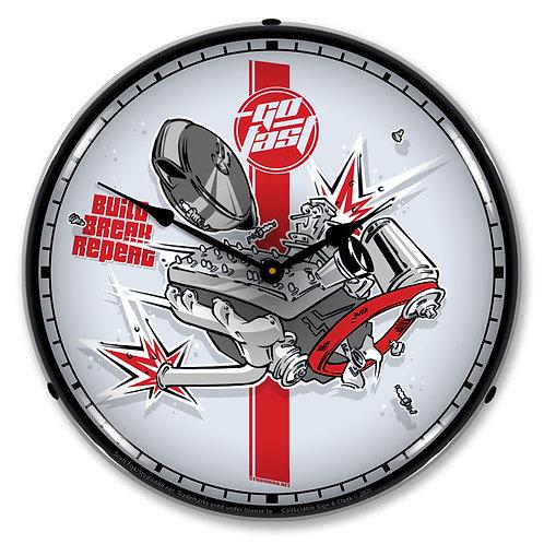 Build-Break-Repeat Clock