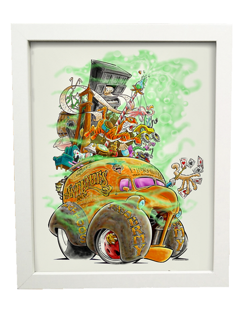 Mr. Moore limited edition print