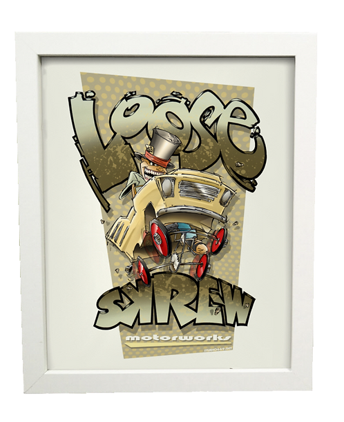 LOOSE~SKREW limited edition print