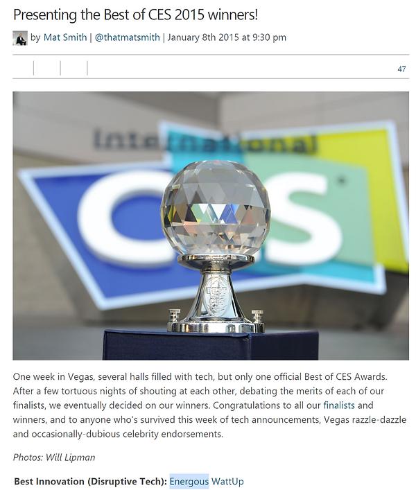 20210307 2015 CES Award Energous.png