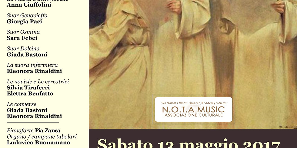 Opera lirica Suor Angelica