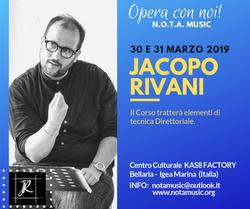 Maestro Jacopo Rivani
