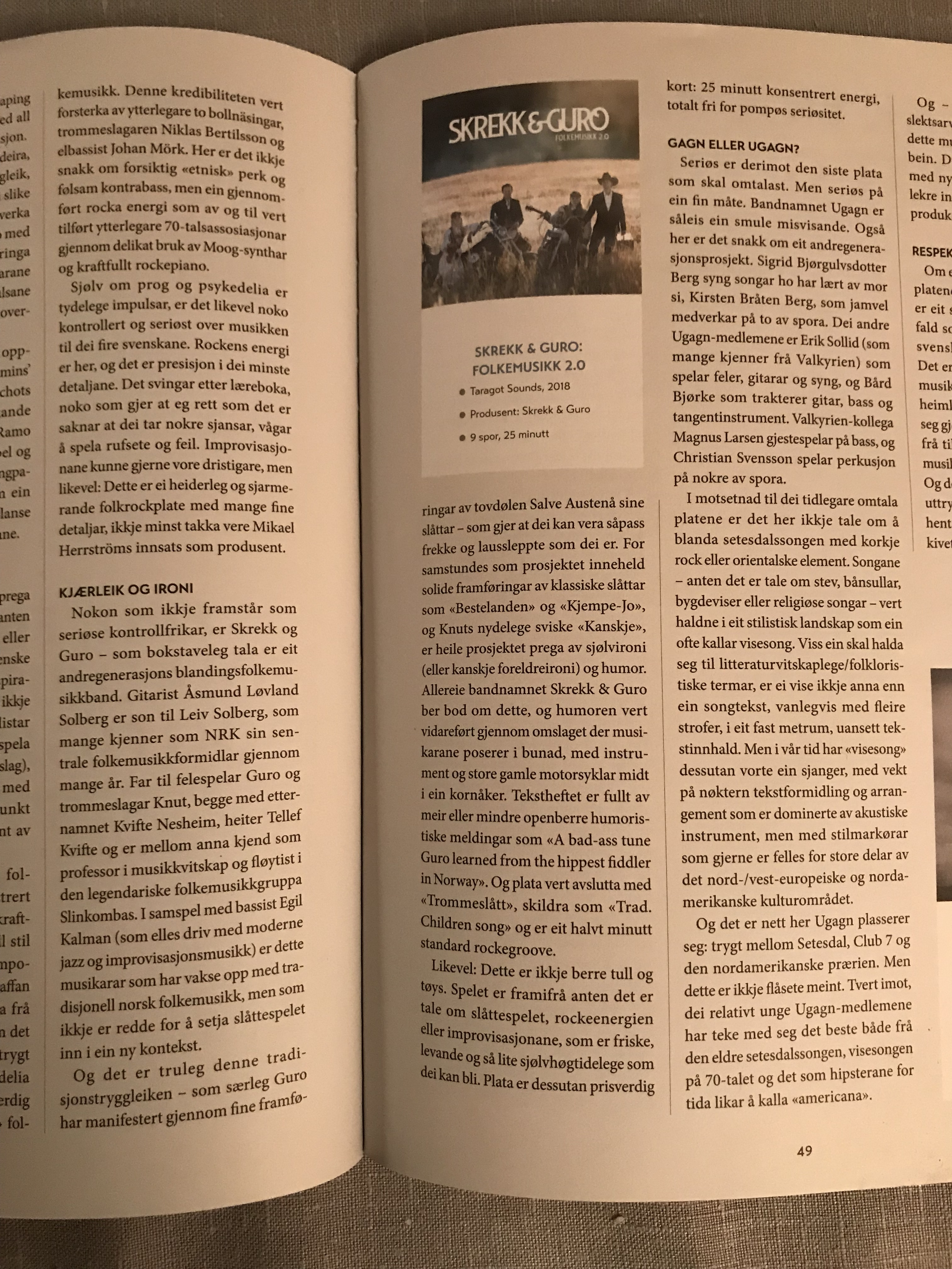 Bladet Folkemusikk