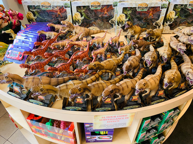 Dinosaur toy store