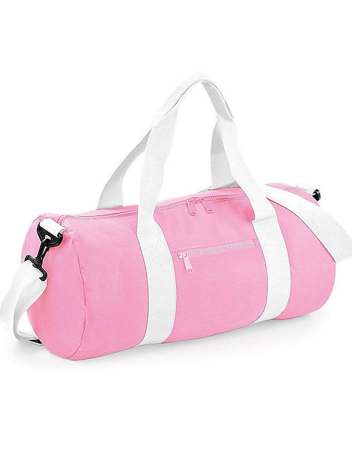 Mini Pink Barrel Bag