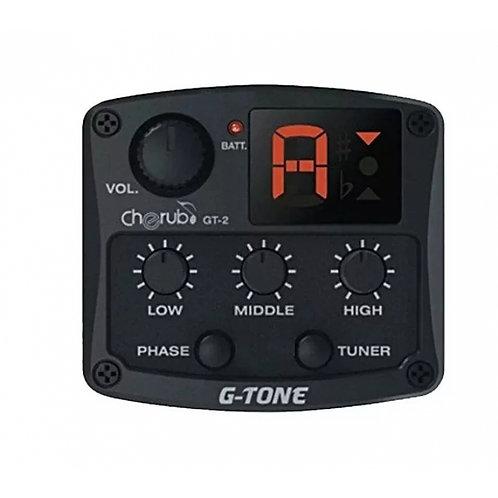 Micrófono CHERUB c/ Ecualizador y Afinador GB-1