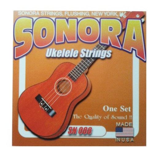Cuerdas SONORA p/ Ukelele