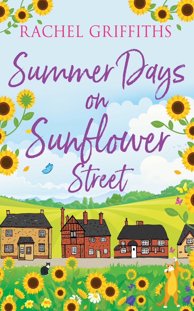 SUMMER DAYS ON SUNFLOWER STREET- KDP ver