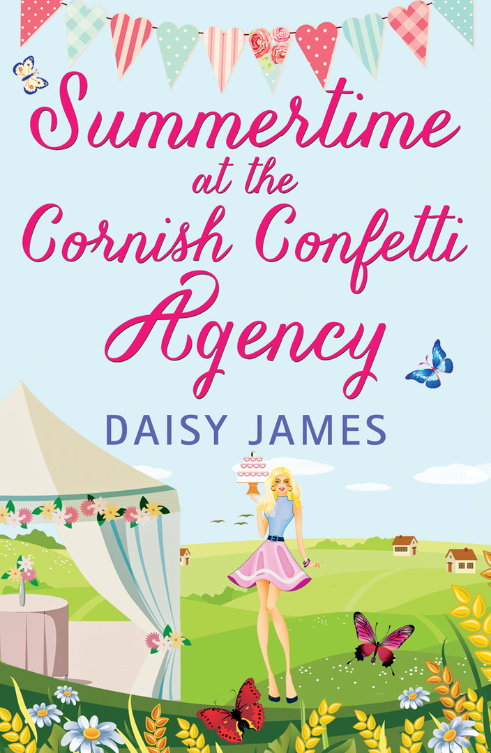 SUMMERTIME at the CORNISH CONFETTI AGENC