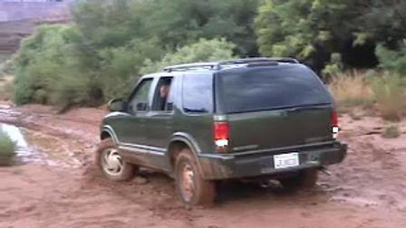 White Rim Trail flash flood 2001