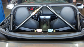 CUSTOM ROLL BAR INSTALLATION