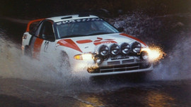 CALIFORNIA RALLY CHAMPION CAR