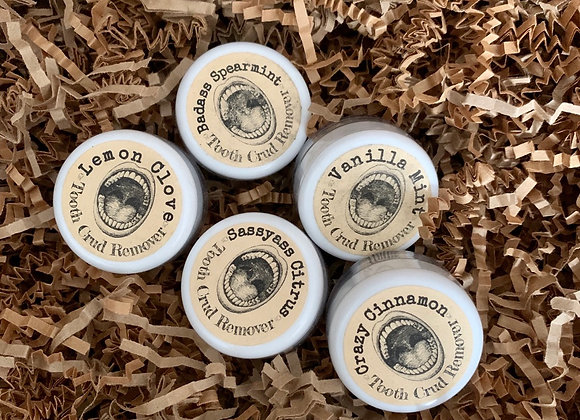All natural  .25 oz Tooth Powders