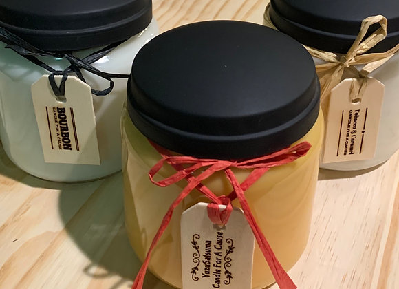 16 oz Manly Soy Jar Candles
