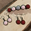 Thumbnail: Bronze, Resin Flower, Earring and Barrette Jewelry set