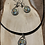 Thumbnail: Watercolor Owl earring and necklace set