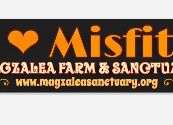 I love Misfits Bumper Sticker