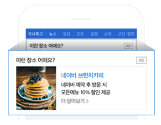 Naver Location based search ads