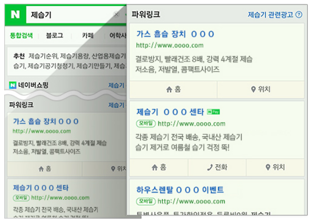 Naver search ads