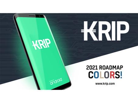 KRIP Presenta su Roadmap Para el Segundo Trimestre del 2021.
