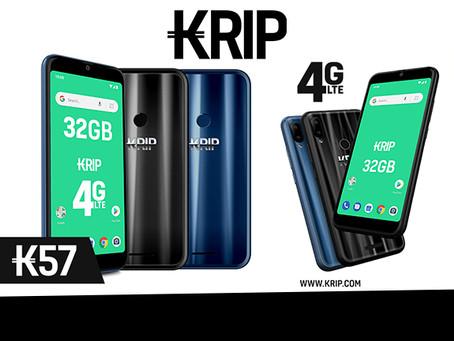 KRIP presenta al mercado latinoamericano un nuevo modelo de Smartphone 4G LTE, el K57.