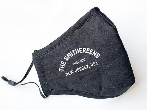 The Smithereens Deluxe Black Face Mask